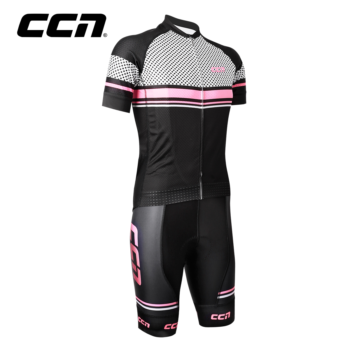 CCN new Jersey 2017 Spring Summer Professional Edition Road Mountain Bike Strap Short Sleeve Cycling Set