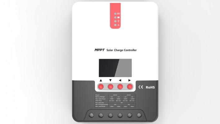 MPPT Solar Controller Intelligent, Fast and High Efficiency Photovoltaic Charging for Photovoltaic Batteries in Household Power Generation System