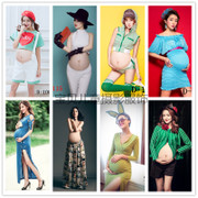 Korean version of the new version of the 2017 pregnant women pregnant women pregnant women's clothing portrait photo camera clothing