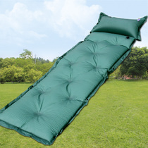 Automatic inflatable pad thickened widening tent camping inflatable pad outdoor Sleeping mat