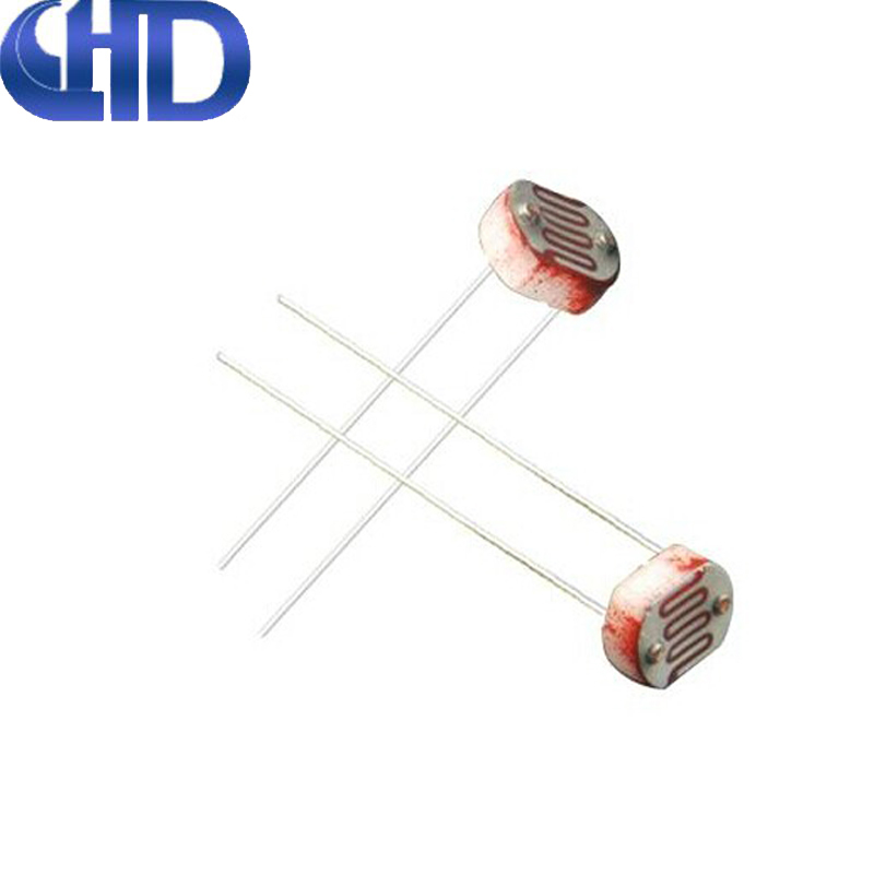 QIHAODAYU 50 5539 Photoresistor Photoelectric Switch Photoelectric Sensors 5MM