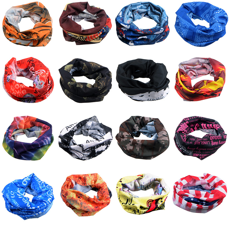 OQsport riding scarf bicycle neck sunscreen dust-proof scarf mask custom-made magic scarf for men and women