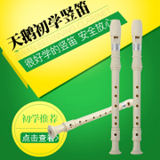 New Swan 6 hole instrument clarinet instruments 8 hole beginners entry of children at high teaching practice recorder