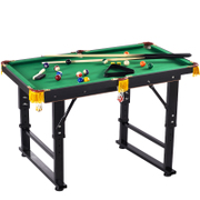 Children's billiard table large black 8 household folding 1.2-1.4 standard table table tennis table Mini billiard table