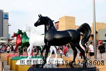 Supply of FRP horse Sculpture Commercial Center square horse Styling sculpture landscape sculpture animal sculpture