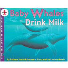 Natural Science Enlightenment 1: Encyclopedia of Popular Science of Young Whales Drink Milk (Let's Read and Find Out) Imported Children's Book 3-6 Years Old