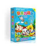 Genuine Happy Qiao Lianzhi 12DVD Hardcover Edition Early Childhood Education CD-ROM 1-8 years old teaching material discs