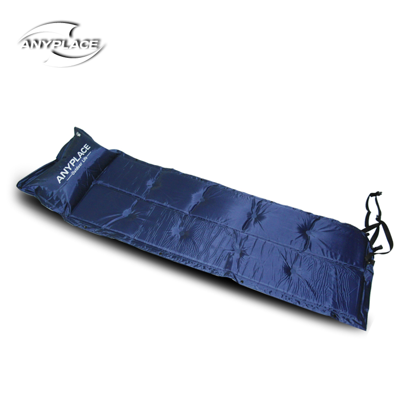 Anyplace automatic inflatable pad camping mattress moistureproof moisture insulation can splice more than two people