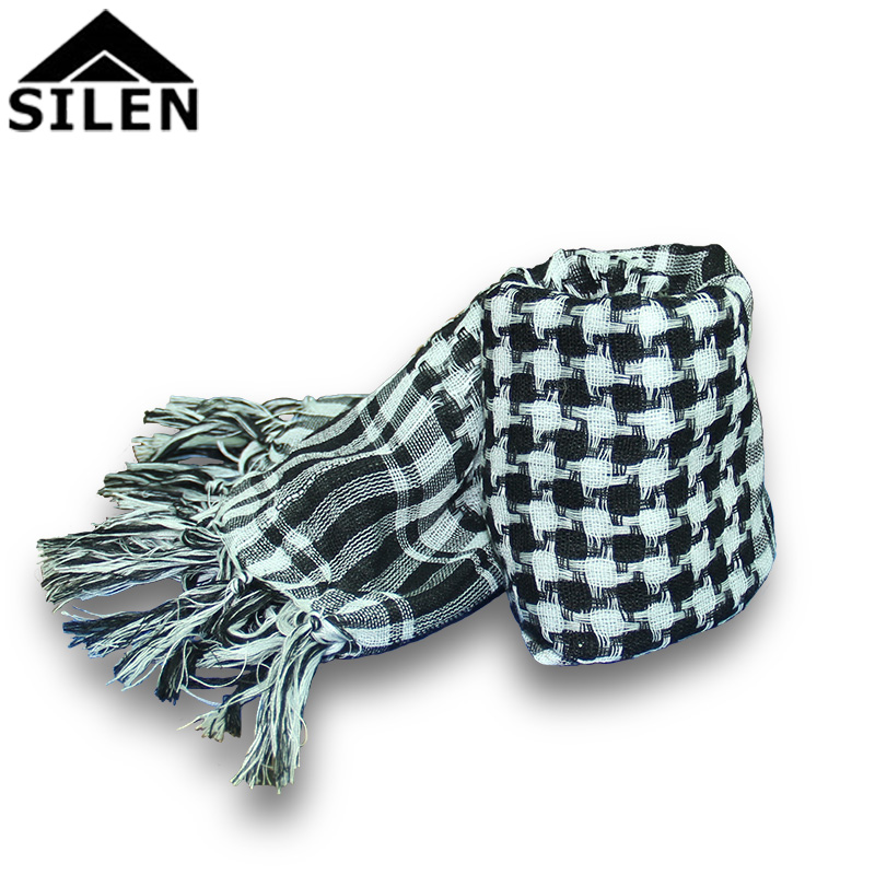 Scarf shawl Dual sunscreen Plaid Scarf Office Air conditioning Shawl Outdoor Riding Breathable scarf Men's collar