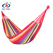 AOFAN hammock outdoor indoor single double canvas student dormitory dormitory hammock thickening swing chair