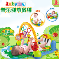 Aubay music fitness toys newborn baby forest piano exercise racks 0-1 music