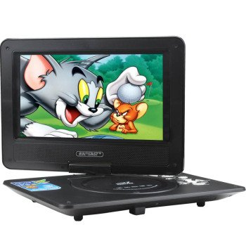 14-inch Mobile DVD with Small TV EVD Flip-over Player Portable 12-reader VCD High Definition 9