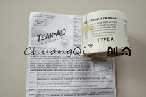 American Tear-aid stick love duvet charge clothes inflatable boat tent Surf Kite repair tape