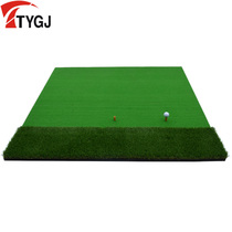 Tianyu new Golf strike pad swing Practice Pad Multi-function length straw mat