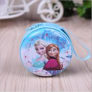 Girls wallet Disney portable frozen children Princess Bag Purse Wallet young students