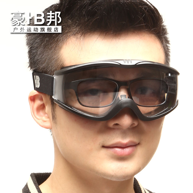 Haobang riding mirror windshield goggles windproof glasses motorcycle goggles dust glasses anti-fog can wear myopia