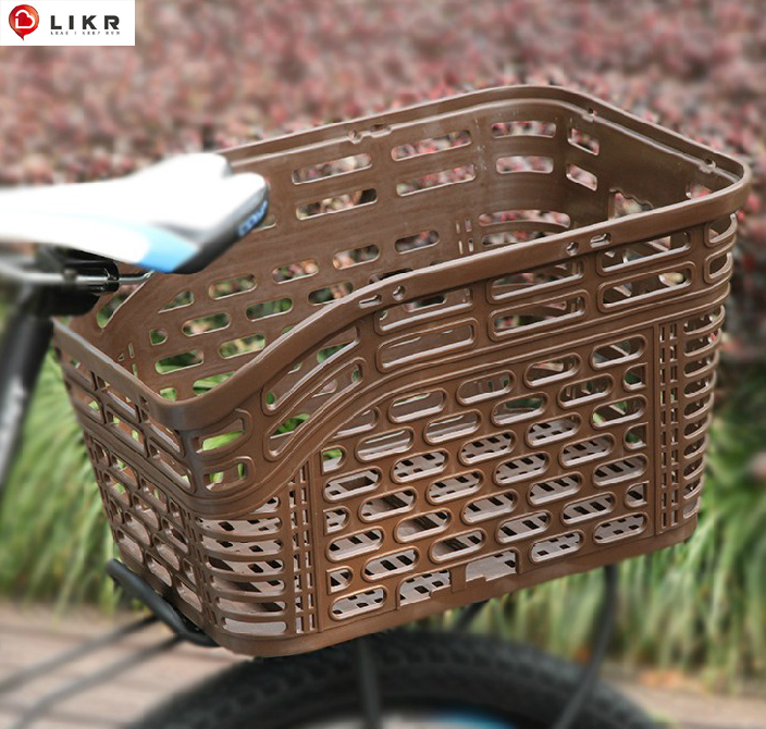 Bicycle basket, bicycle basket, bicycle basket, City mountain bicycle rear basket, folding bicycle basket, vegetable basket, electric bicycle basket, pet basket accessories