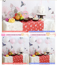 Korean traditional hundred years old birthday banquet Miaocheng Supplies Package Rental
