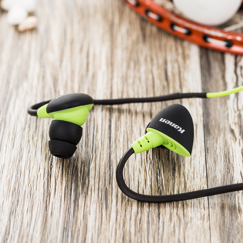 Kanen/ card can s30 in-ear sports earphones run bass music music ear ear wheat earphone