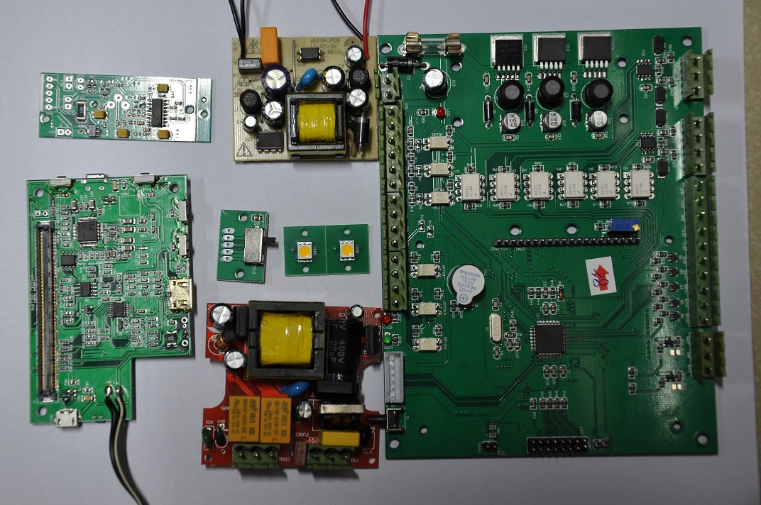 Electronic product development / PCB design / schematic drawing / MCU development