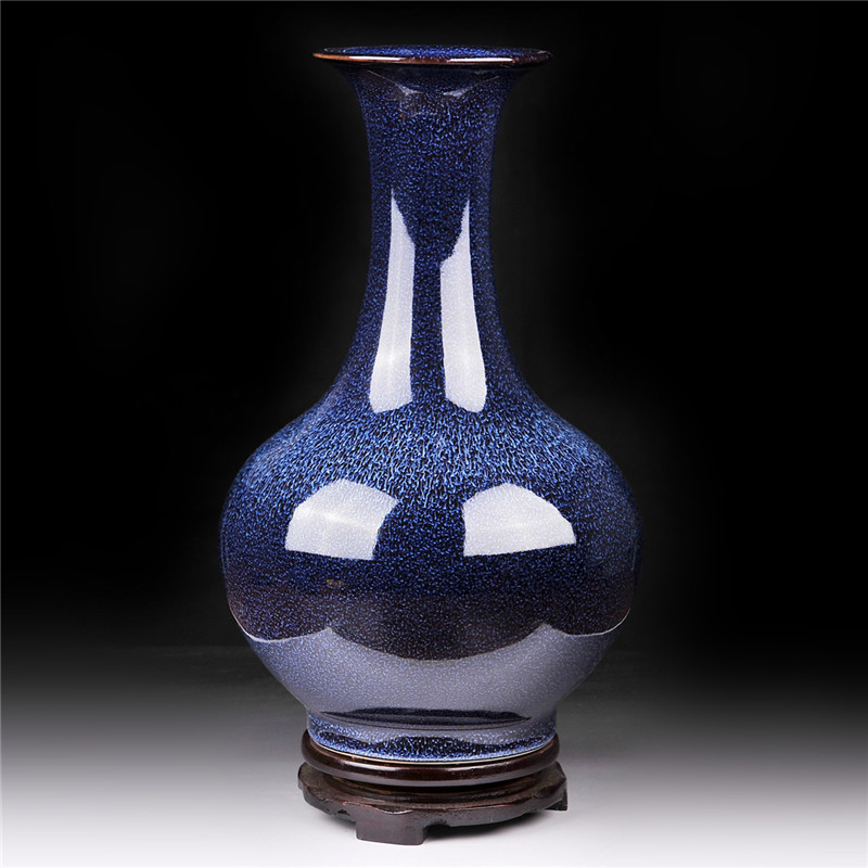 JDZ Jingdezhen Ceramic Vase, Porcelain Home Decoration, Handicraft, Flower, TV Cabinet