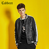 Carbene baseball collar embroidered men's cotton leisure coat