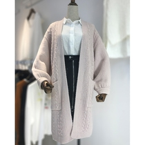 Mm loose fat slim fat sister in autumn and winter the thick knitted sweaters