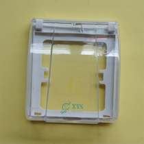 Type 86 Wall Switch Kitchen Toilet Bathroom Waterproof Box Lubricator Moisture Box Transparent Type