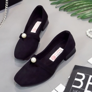 The new old Beijing shoes shoes with black female antiskid shoes shoes shoes all-match Hotel fashion shoes