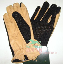 Equestrian Gloves Children Riding Gloves pigskin Line back Equestrian Gloves Horse Riding Gloves Special Offer