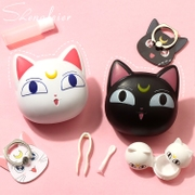 Take 1 2 cat Xiongben bears stealth glasses box box mate cosmetic contact lenses mirror double cassette tweezers box
