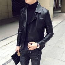 The tide lapel mens Han Edition young students casual jacket