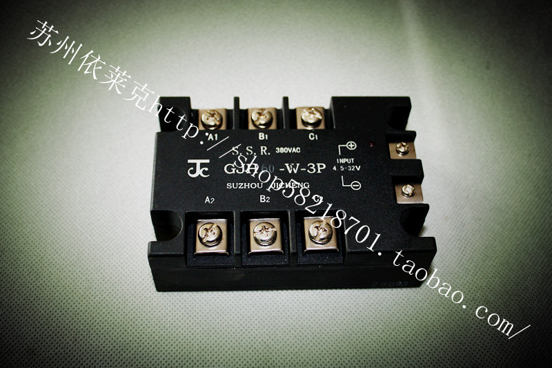 Three phase AC solid state relay and module gjh60-w-3p SSR Suzhou integrated technology 60A