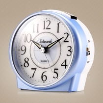 Uranus MUTE ALARM Clock creative bedroom nightlight lazy sleeper sleepy student bedside clock pointer small clock