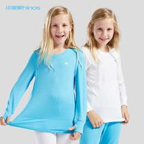 Magasin de six ans pour s'assurer que le petit éléphant bleu hi-sleep shinos sous-vêtements pour enfants top sueur proche